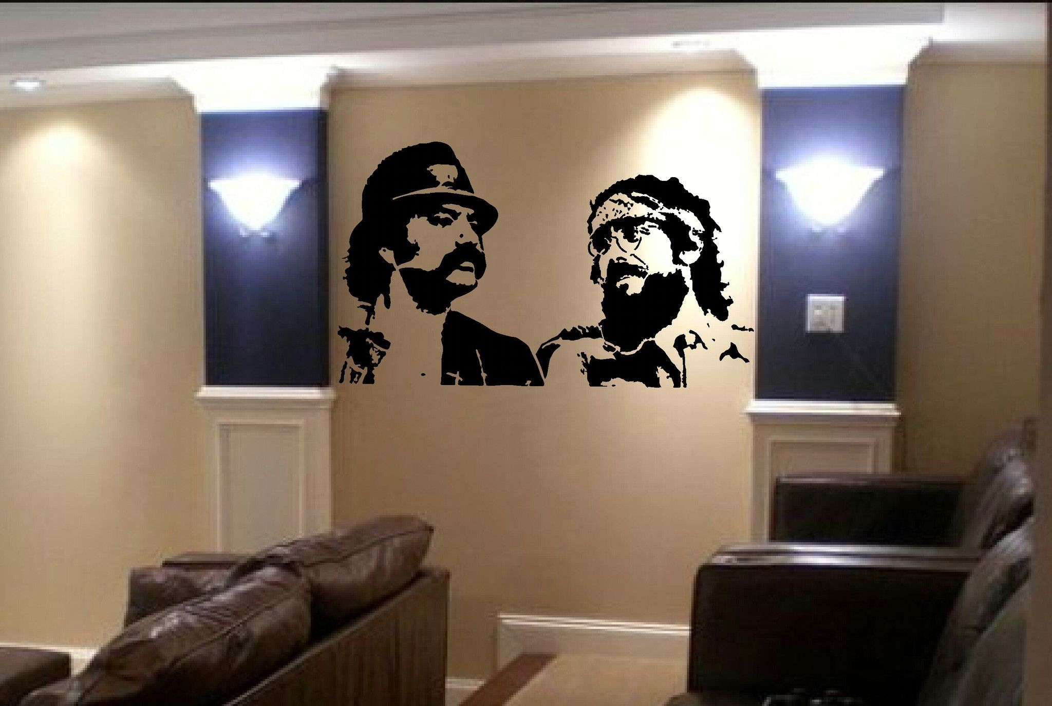 Cheech And Chong Vinyl Decal Graphic
