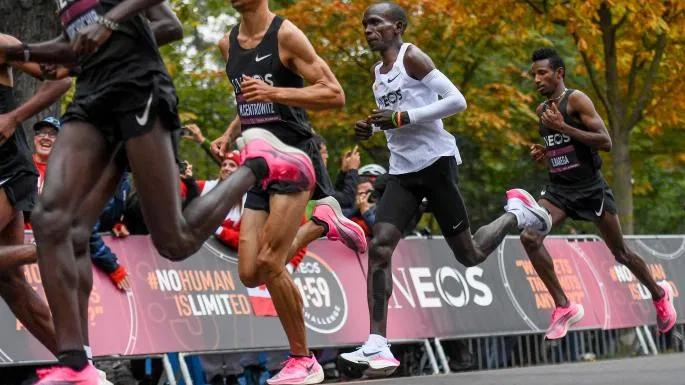 navegación estante mejilla  El prototipo del Vaporfly con que Kipchoge rompe las 2 horas – RunMX |  Maraton de nueva york, Club de corredores, Media maraton