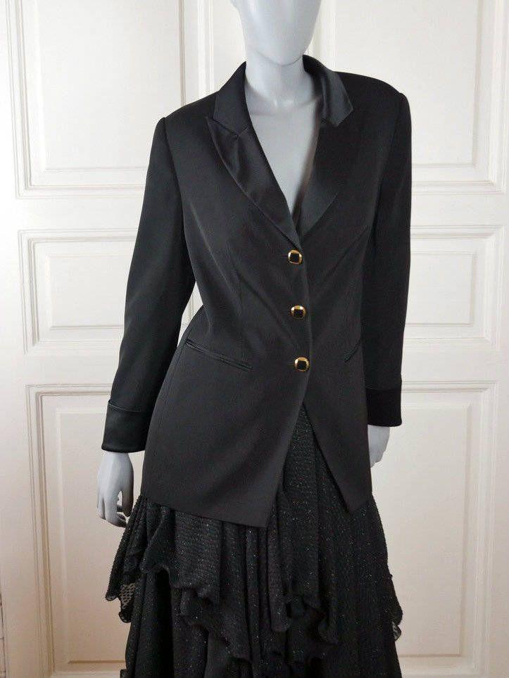 German Vintage Tuxedo Jacket Women s 1160f72d5