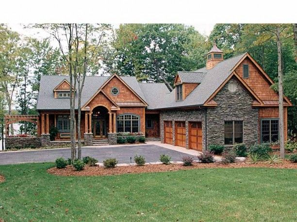 images about House Plans on Pinterest Craftsman style
