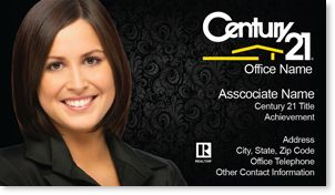 Century Realty Business Cards Century Business Cards - Century 21 business cards template
