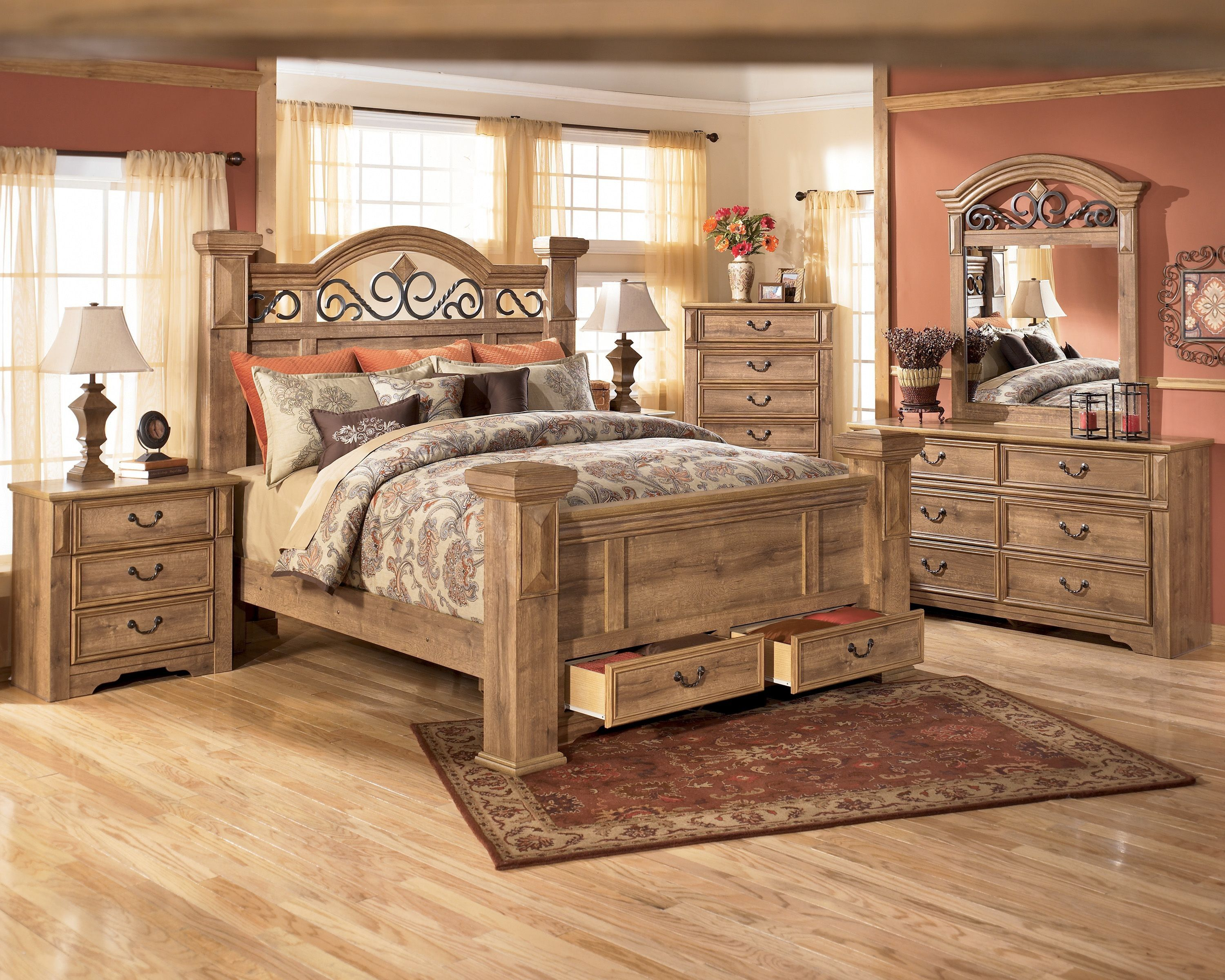 Inspirational Rustic Bedroom Sets King