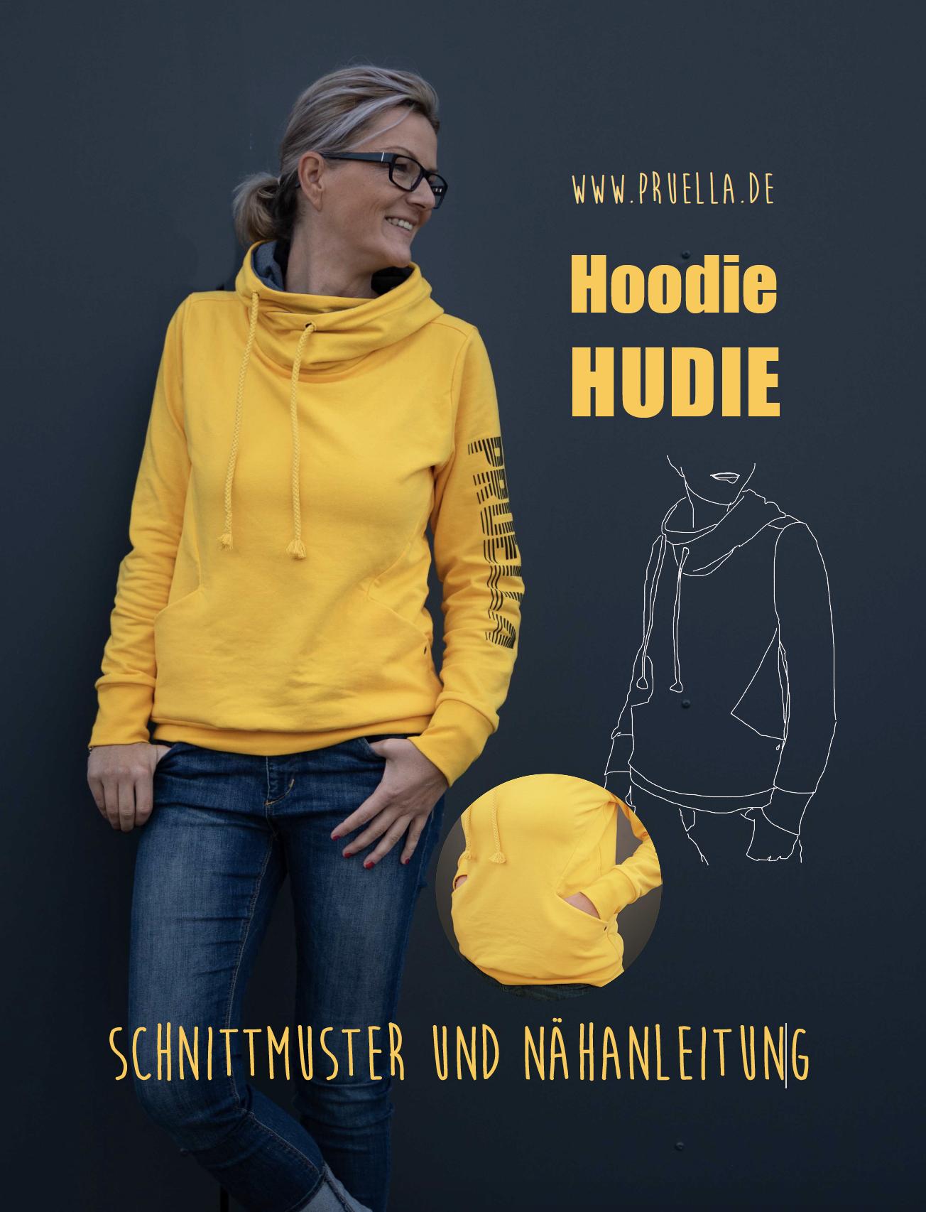 Pruella Schnittmuster Hoodie Hudie | Schnittmuster hoodie