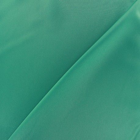 Tissu microfibre touché soie lagon x 10cm