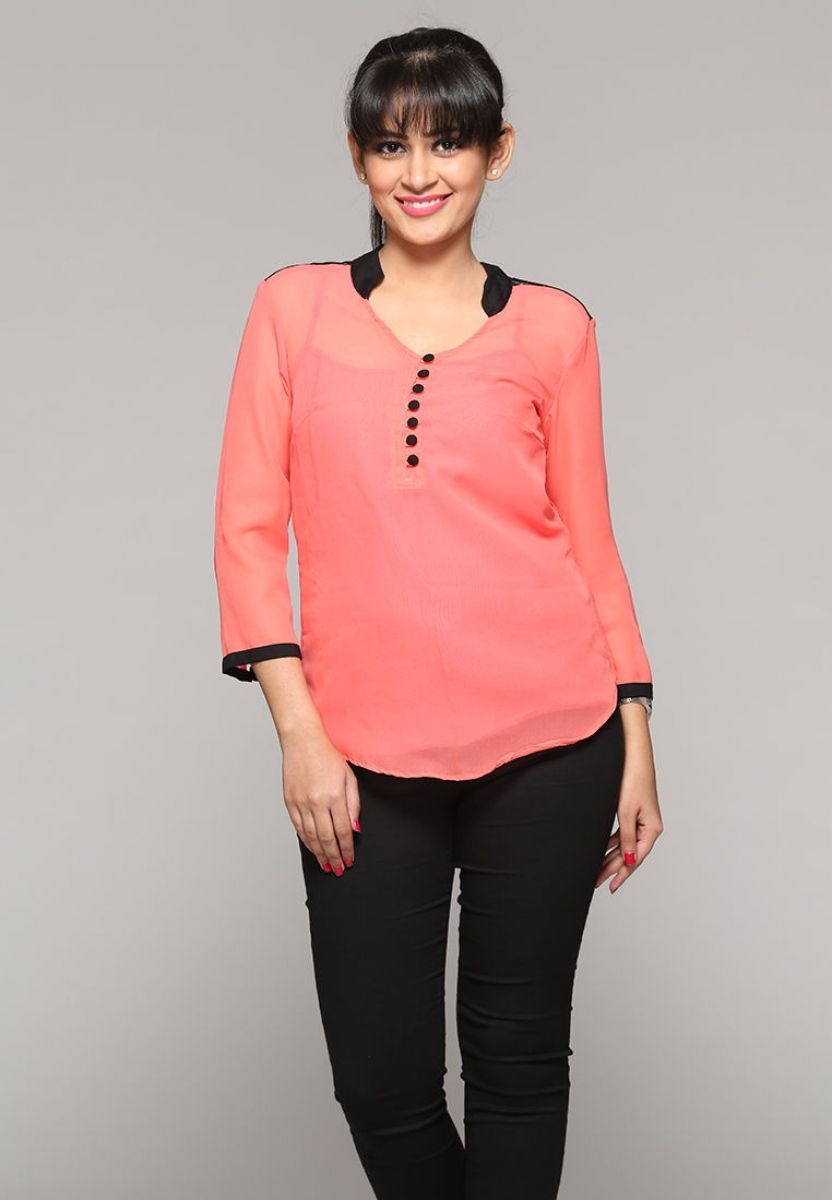 Modern dress Designer Shirts for Ladies in India on itibeyou.com