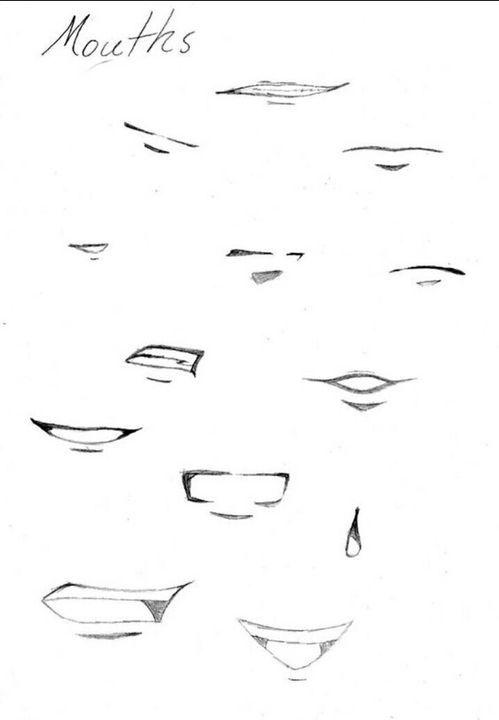 Apprendre A Dessiner Manga Pas A Pas : apprendre, dessiner, manga, Épinglé, Visage