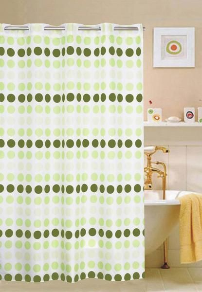 5 Fresh Clean And Spring Worthy Bathroom Colors: Shower Curtain. FREE SHIPPING