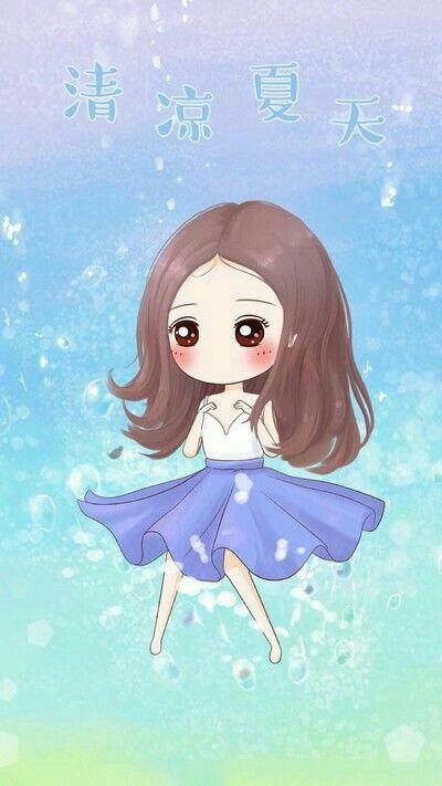 Pinterest Chibi Wallpaper Chi Korean Pretty Jpg 400x711