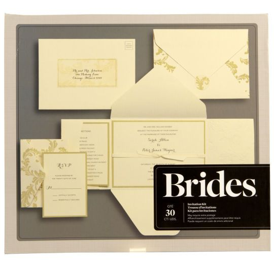 brides wedding invitation kits – fleeciness, Wedding invitations