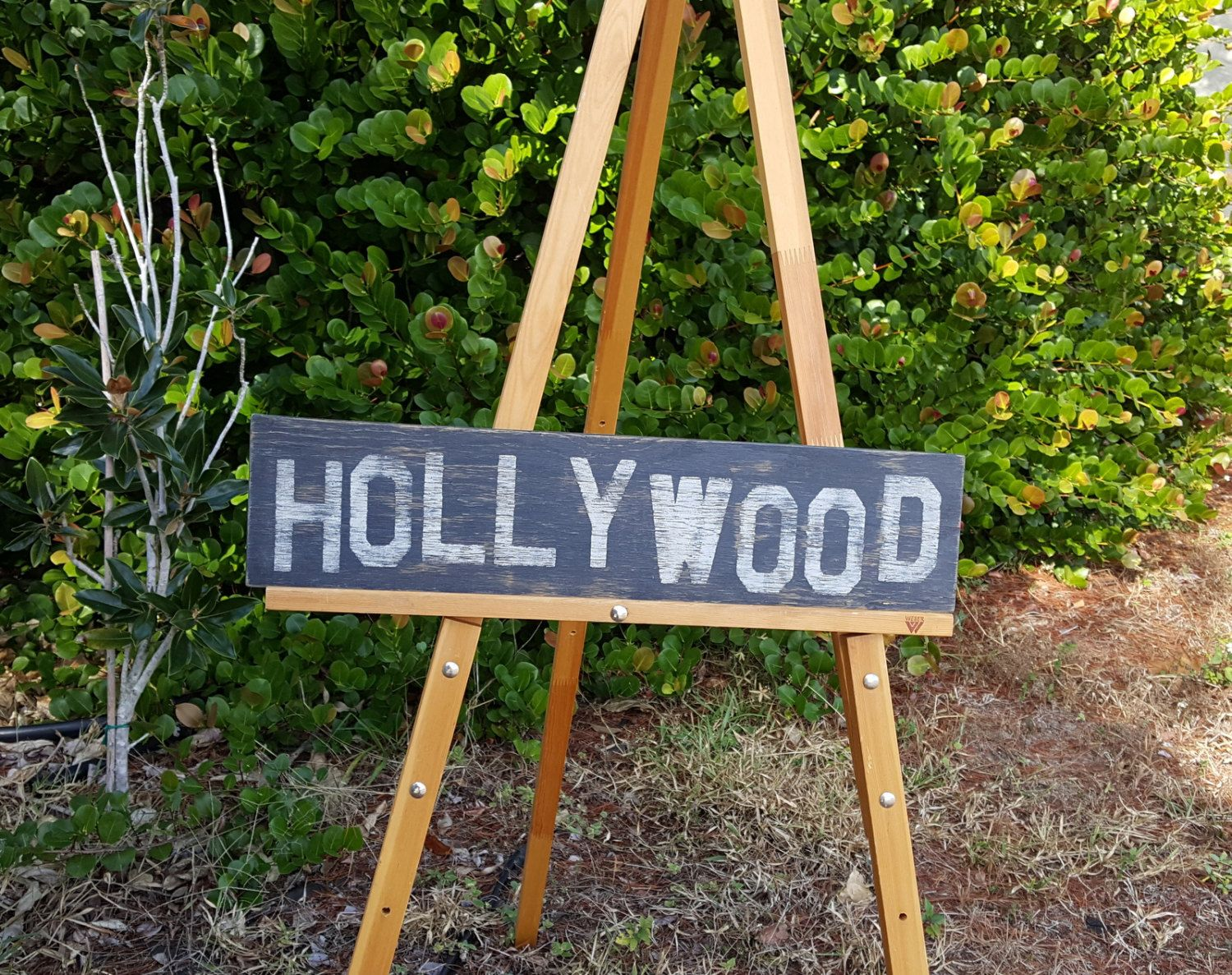 Distressed And Vintage Look Hollywood Sign City LA By ATouchofChic On Etsy