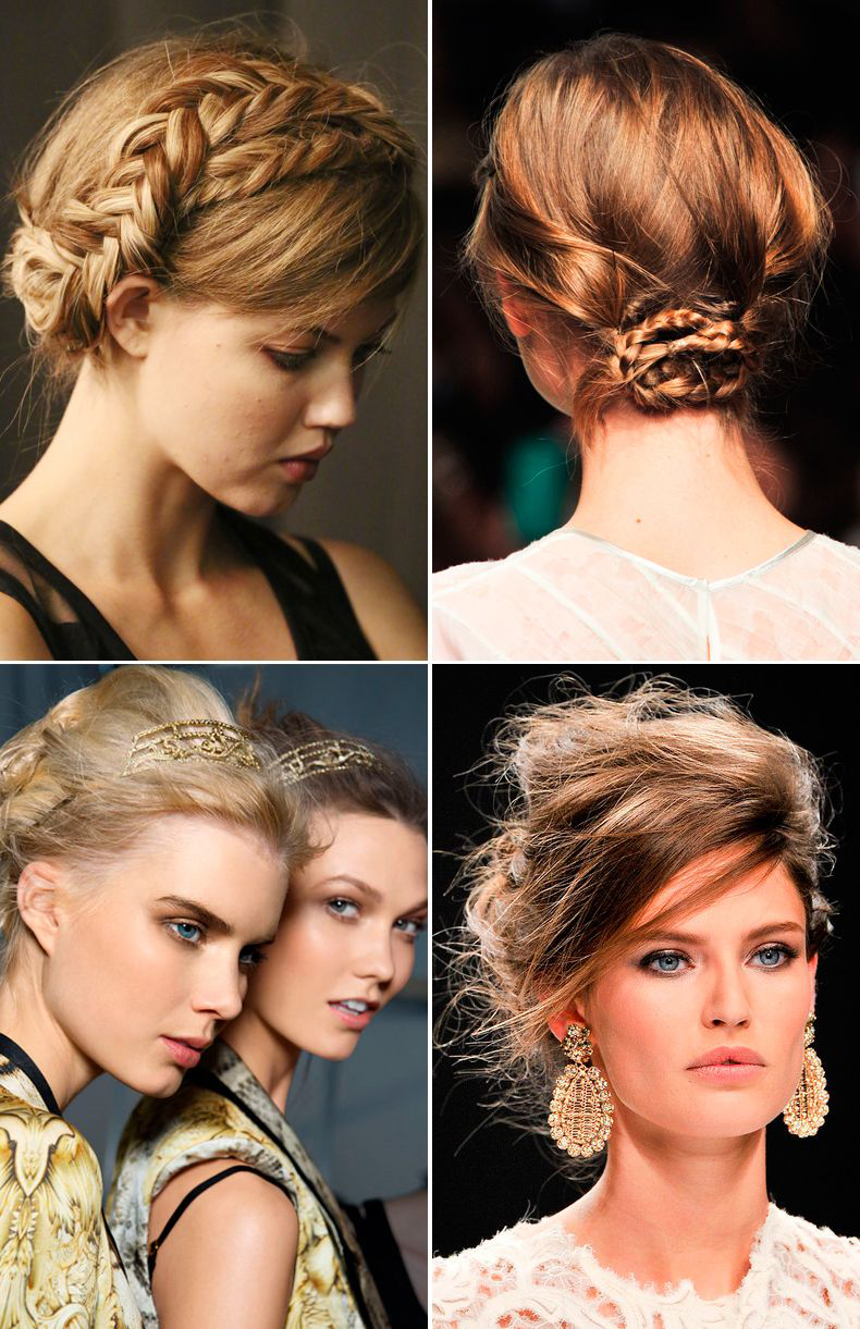 Two Ponytail Hairstyles Extraordinary I Think That Bottom Right Style Is Especially Gorgeous Done But