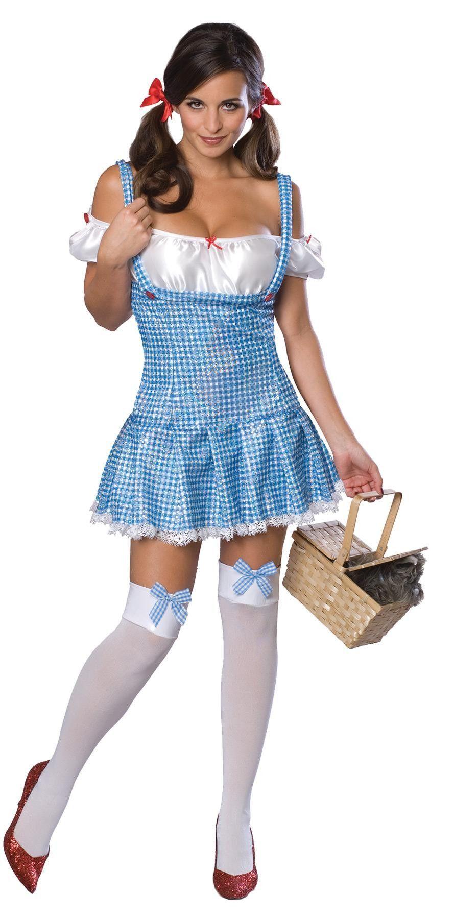 Wiz Of Oz Dorothy Adult Medium In 2020 Costumes For Women Halloween Fancy Dress Wizard Of Oz Dorothy Costume