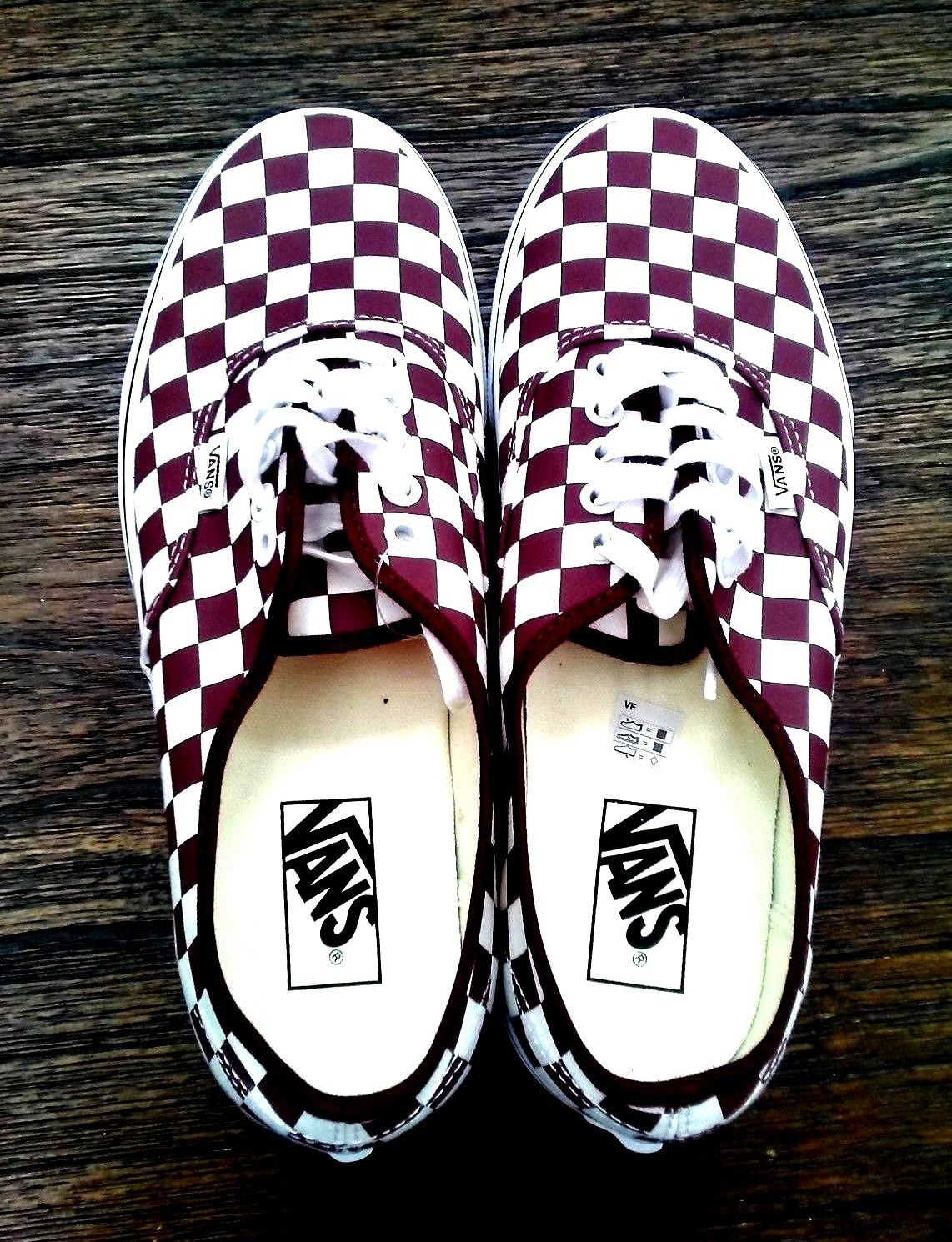 975b0d540f Vans Authentic Checkerboard Port Royale Men s Size US 9 Womens Size US 10.5