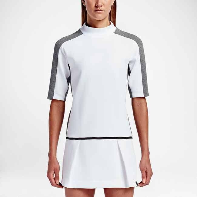 Damesmode NikeCourt tennisjurk zorgt voor comfortabele bedekking en natuurlijke bewegingsvrijheid op de tennisbaan. MEER  http://www.pops-fashion.com/?p=30333
