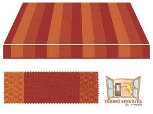 Tessuti Tempotest in Acrilico Marroni Marrone, Tende