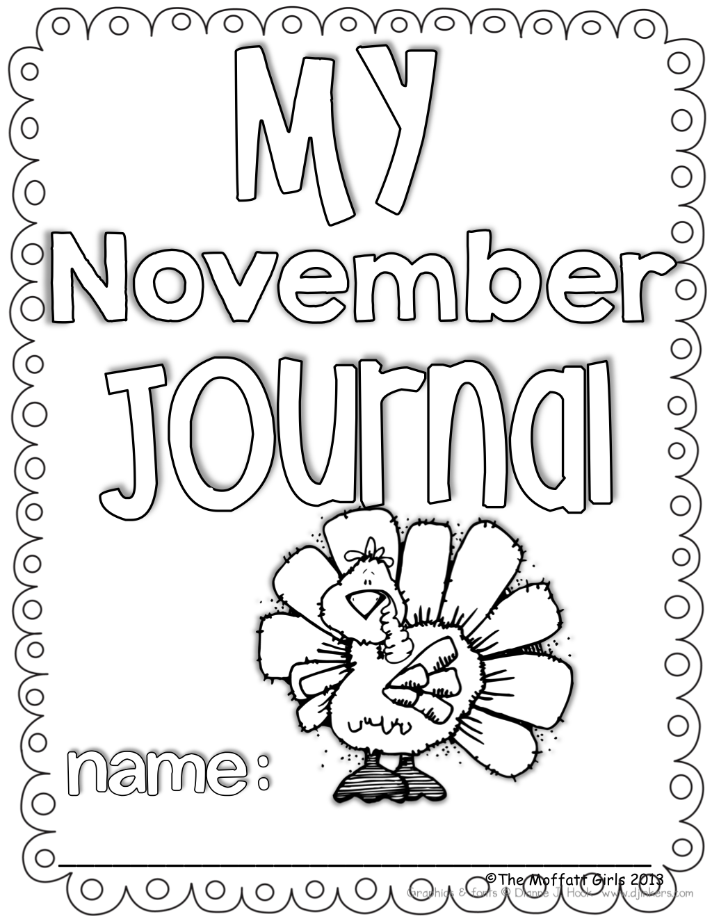 Daily Journal Prompts For November