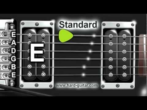 Best Online Guitar Tuner E Standard Tuning E A D G B E Youtube Guitar Tuners Online Guitar Lessons Ukulele Lesson