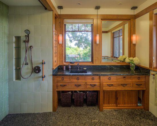 Historic Craftsman Bathroom Master Ideas 5041748793