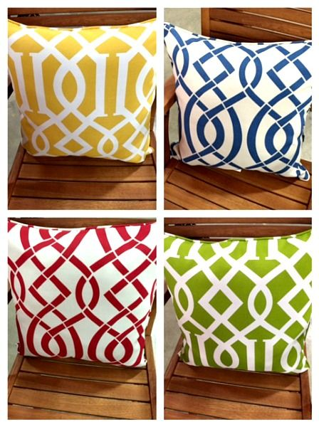 These Fun Pillows Will Dress Up Your Patio And Get You Ready For Spring! #  · Tuesday MorningOutdoor ...