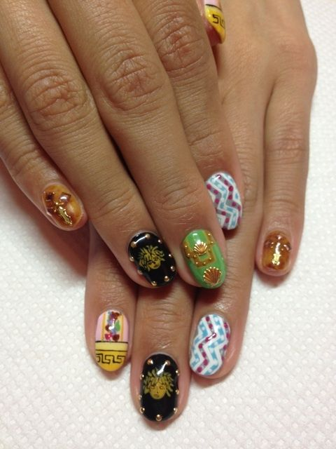nailartlove-japan-nail-art-disco7 | stuff | Pinterest | Japanese ...
