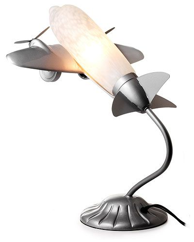 Cool Airplane Lamp For The Boy S Room, Aviation Desk Lamp