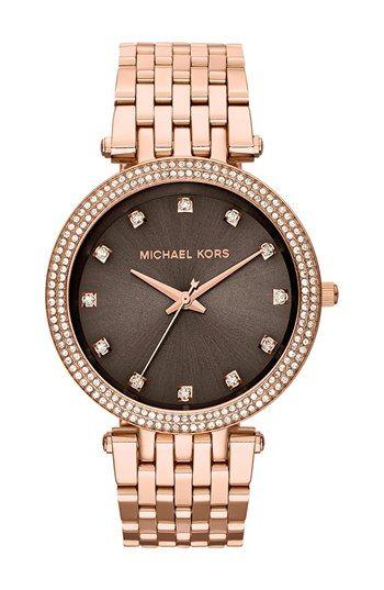 Michael Kors Darci Crystal Bezel Bracelet Watch 39mm Nordstrom Michael Kors Michael Kors Darci Michael Kors Watch
