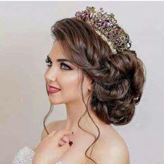 تسريحات Bridal Hair And Makeup Hairdo Wedding Hair Styles