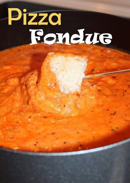 14 Comforting Recipes That Make Fondue Parties a Thing #fondue
