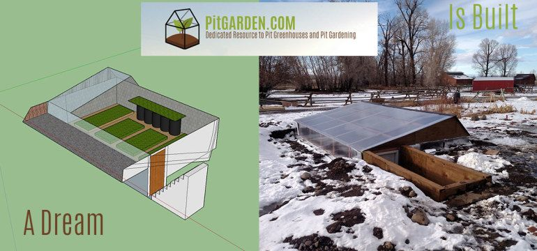 Pitgarden.com ~ dedicated resource to pit greenhouses and pit gardening