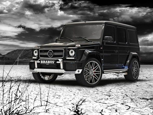 Brabus Mercedes Benz B63 620 Widestar Mercedes Benz G Class