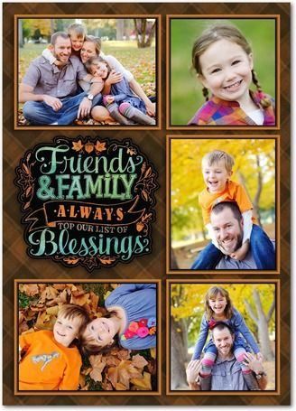 Thanksgiving Cards & Happy Thanksgiving Photo Cards | Treat by Shutterfly | Such a cute card to send to family and friends. http://shrsl.com/?~6xxj