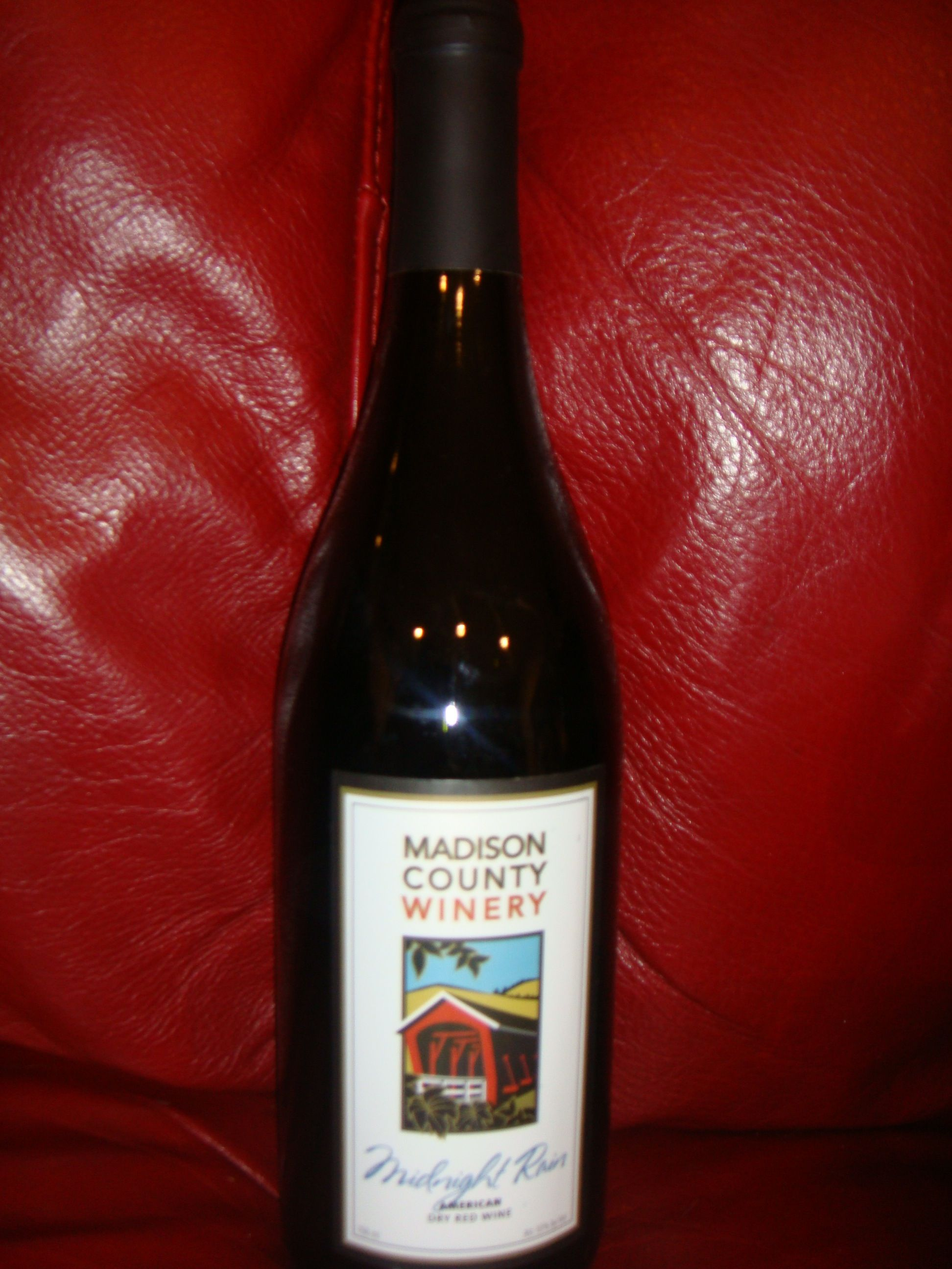 Midnight Rain Dry Red Wine By Madison County Winery Dry Red Wine Wine Wine Tour