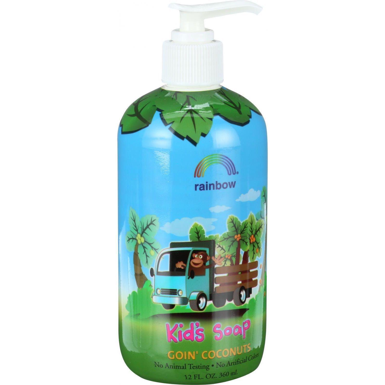 Rainbow Research Kids Soap - Goin Coconuts - 12 oz   Aloe vera ...