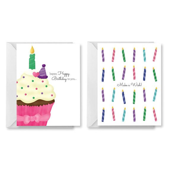Printable Birthday Card PDF Birthday Card DIY Birthday