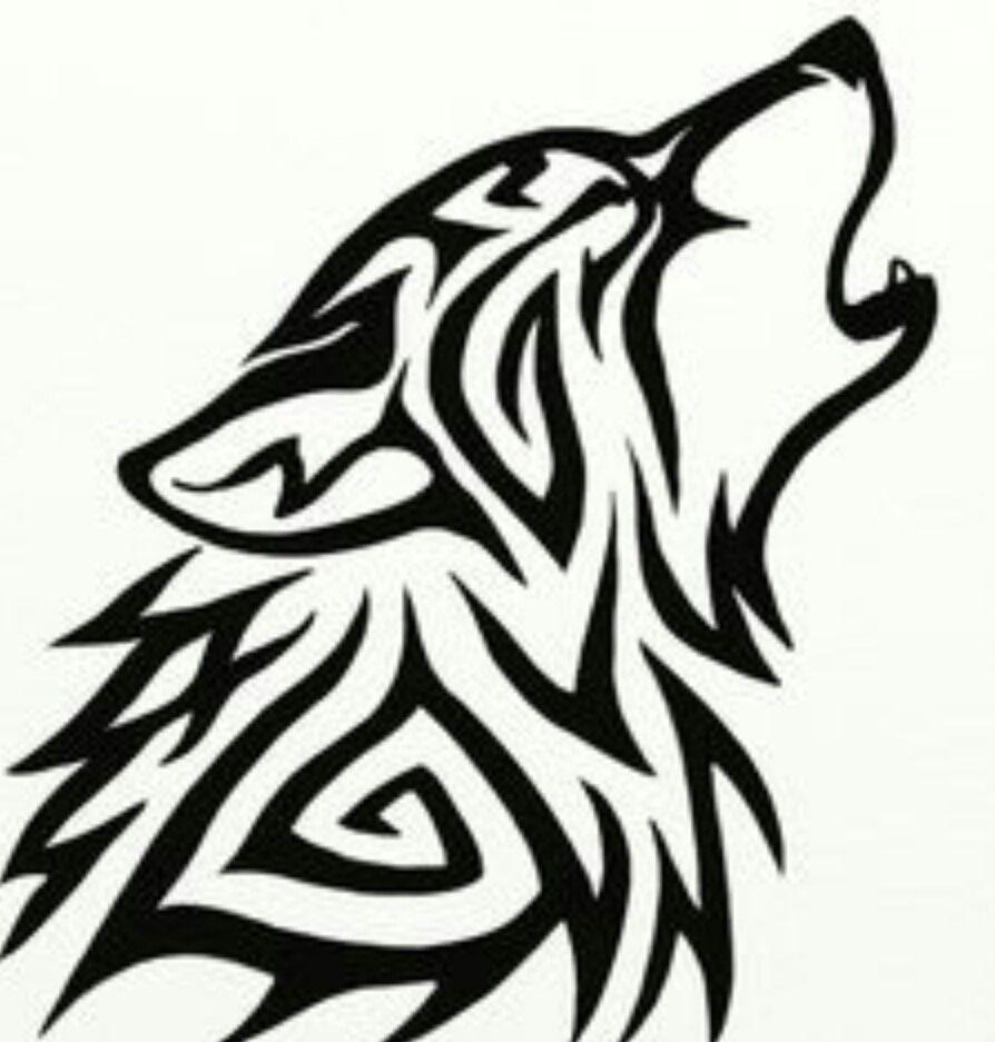 Tribal Wolf Tribal Wolf Tribal Wolf Tattoo Tribal Drawings