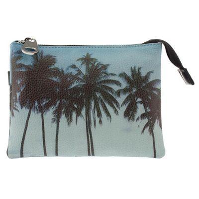 Parfois Blue Palm motel cross bag- at Debenhams.com