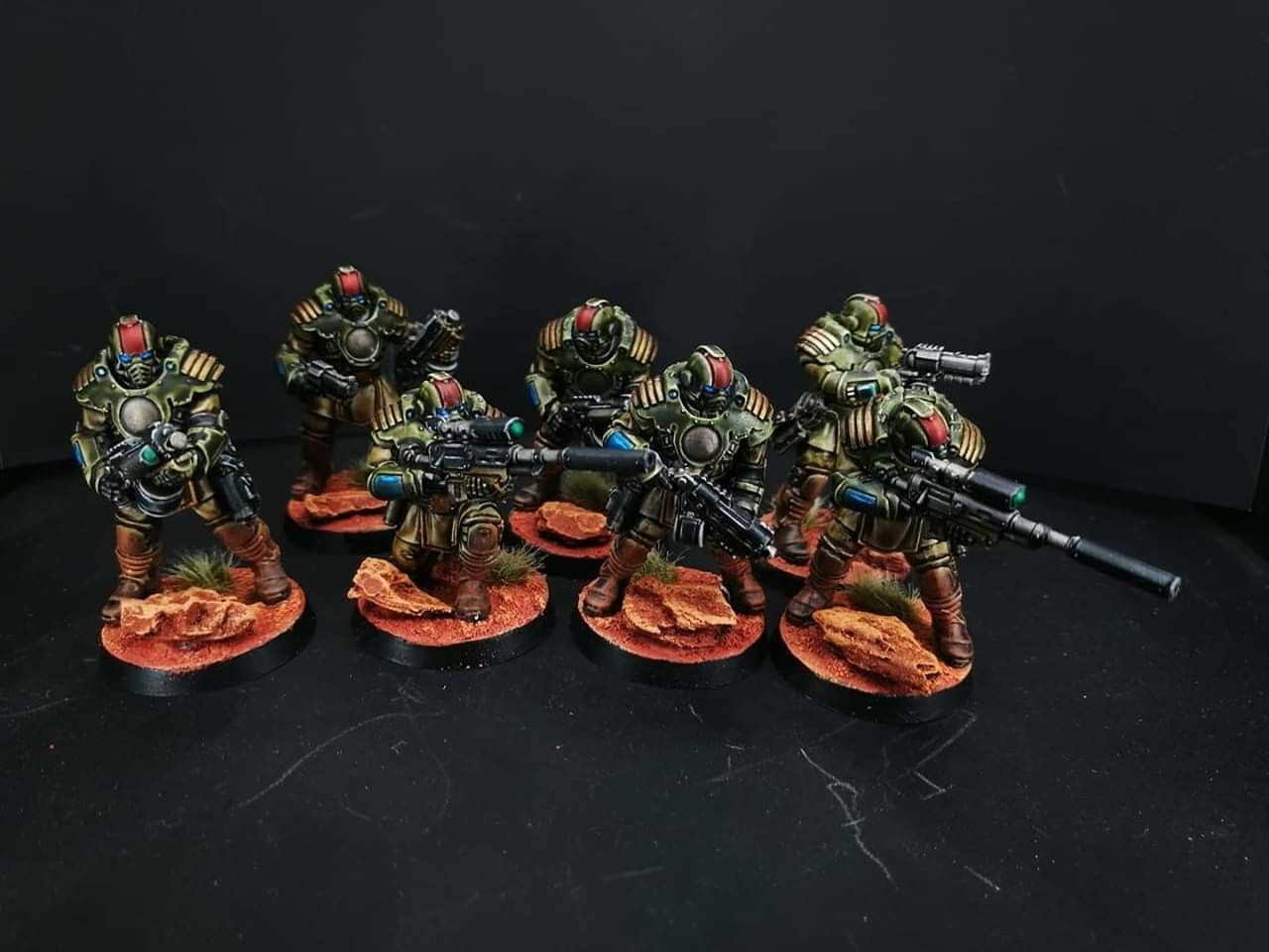 Scout squad for my raptors, using the wonderful palanite