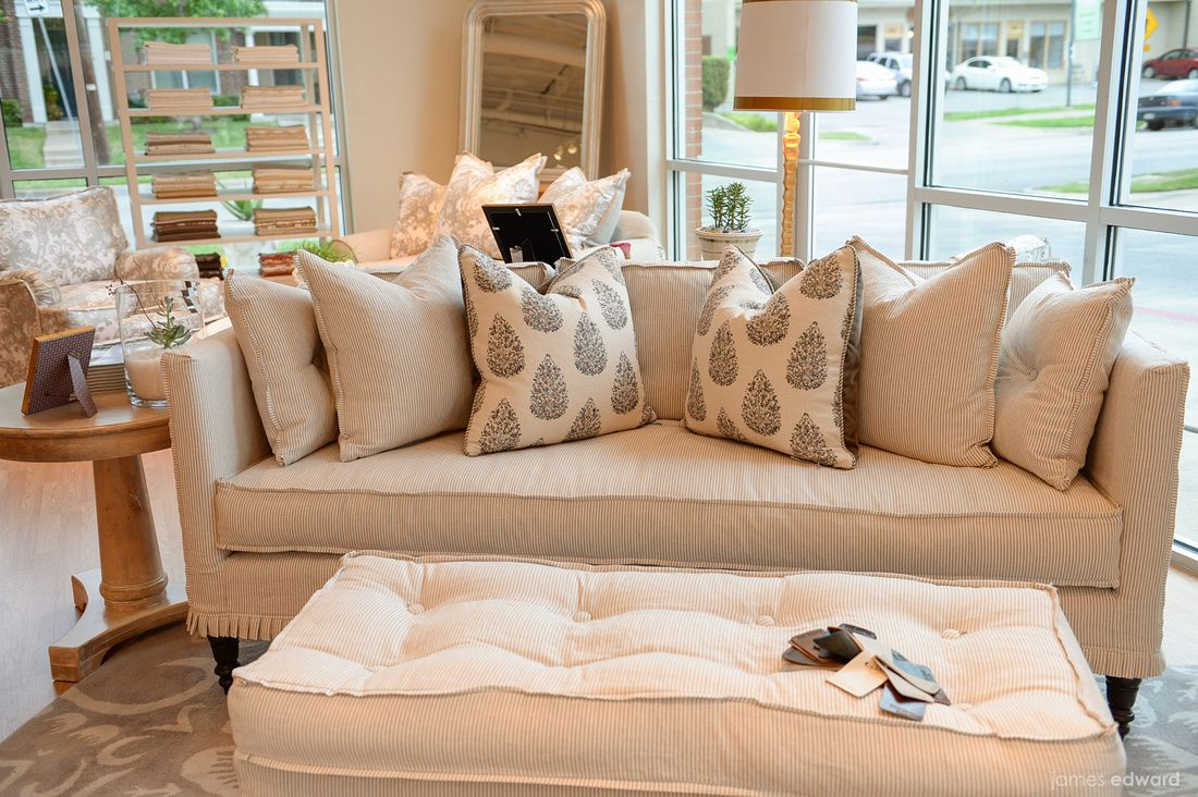 Francis Sofa/Francis Ottoman #slipcovered #sofa #washable