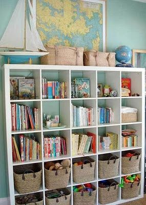 Etonnant Playroom Expedit Toy Storage And Woven Baskets...greeting One Of These For  The