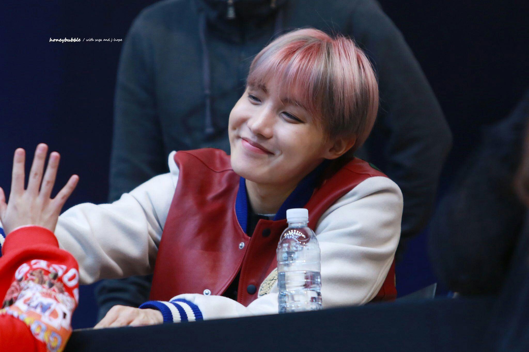 J-Hope❤ BTS Myeongdong Fansign (170224) #BTS #방탄소년단