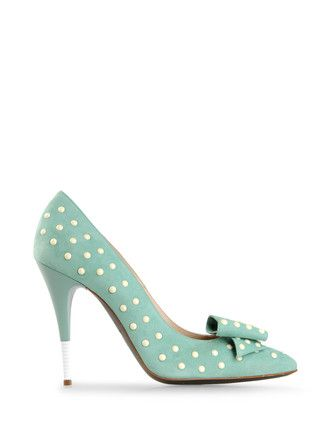 I LOVE the l polka dots!          Pinned before me by ERNESTO ESPOSITO @ shoescribe