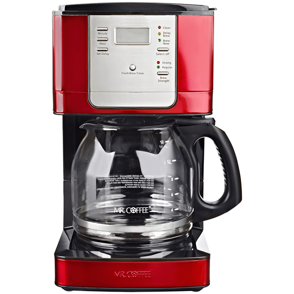 Coffee, Coffee maker, Red kitchen appliances