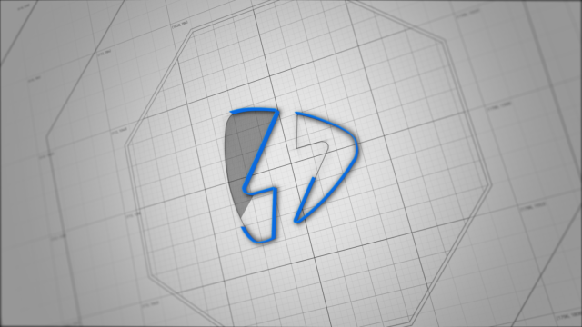 3d sketch online video title sequence and software present your logo with this sketch like 3d intro choose the shape that suits your logo the best and you are done sketch 3d architech blueprint lines malvernweather Gallery