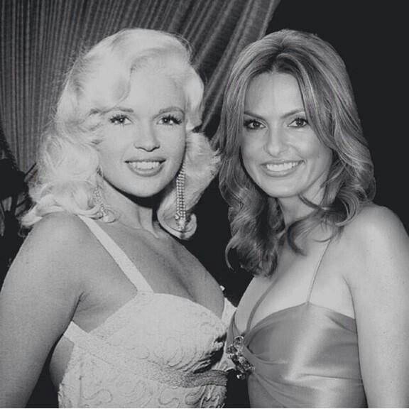mariska and her mother jayne mansfield mariska her