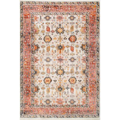 World Menagerie Funches Beige Area Rug Area Rugs Beige Area Rugs Colorful Rugs