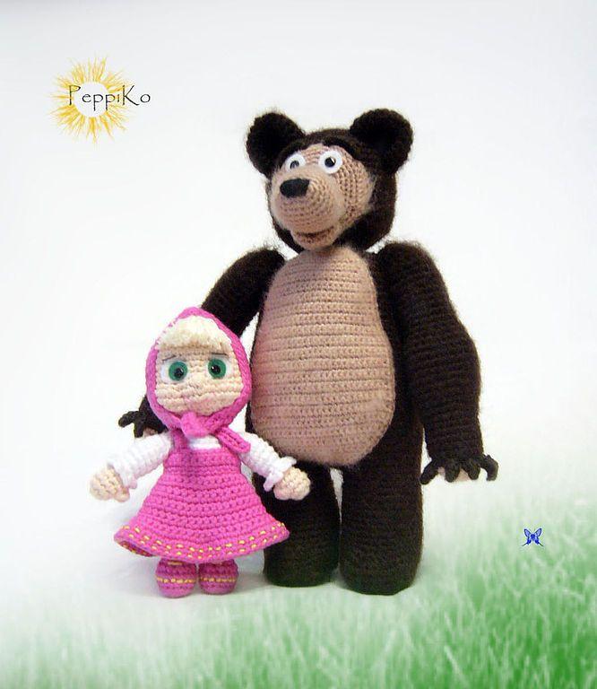 39+ Ideias de Amigurumi Masha E O Urso +Videos – Casa do Amigurumi ...   768x666