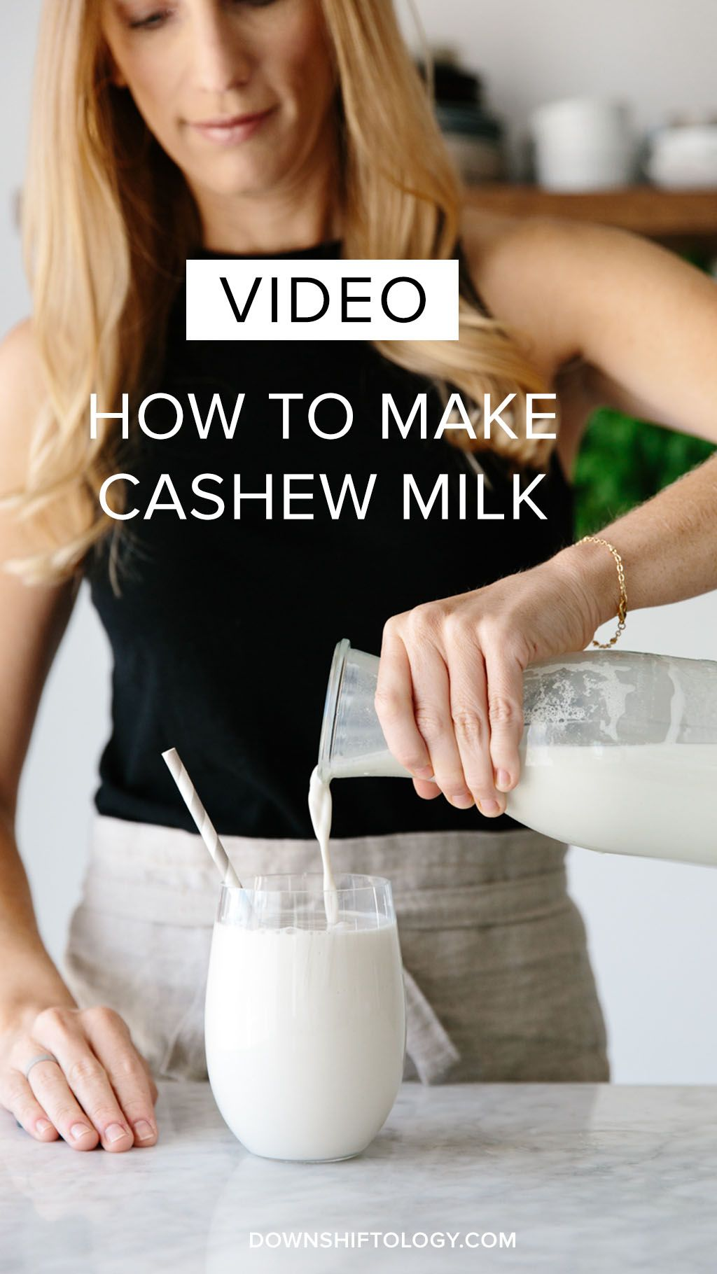 how to make cashew milk in vitamix