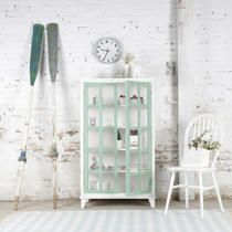 Uma vitrina doble banak importa white wood pinterest - Banak importa recibidores ...