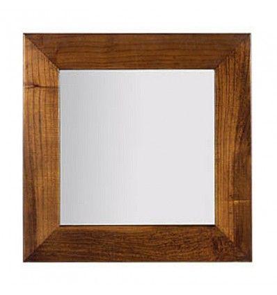 Miroir Carré Tali Mindy meuble bois exotique