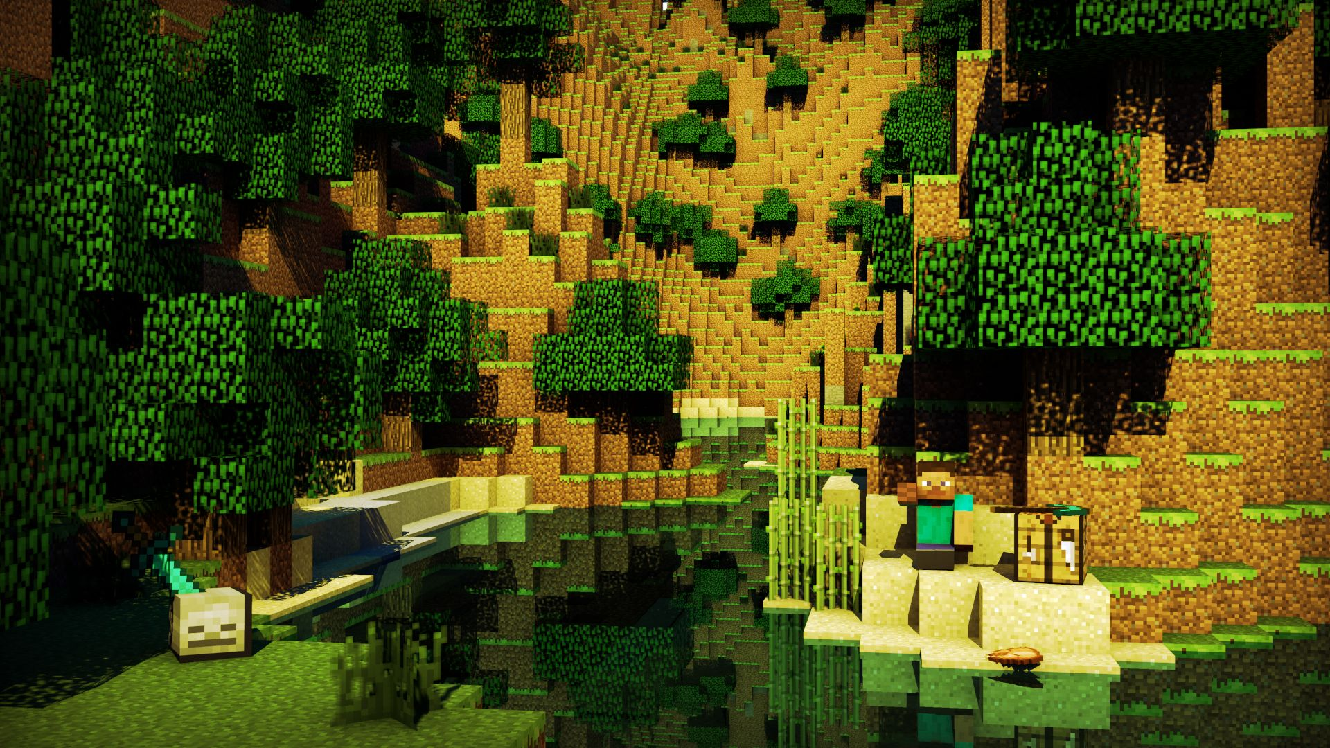Minecraft Creeper [HD][1920x1080] Need iPhone 6S Plus
